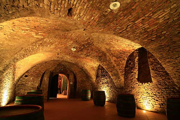 Der Keller der P&F Winery, Foto © P&F Winery