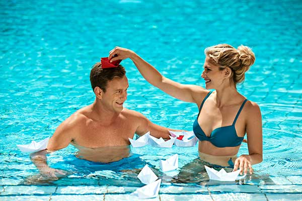 Outdoor-Pool der Therme Banovci, Foto © SAVA Hotels & Resorts