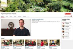 YouTube Kanal - Yogatherapie Dr. Peter Poeckh